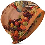 Giles John Unisex Beanie Caps Happy Thanksgiving Türkei Land Gedruckt Comfortbale Weiche Slouchy...