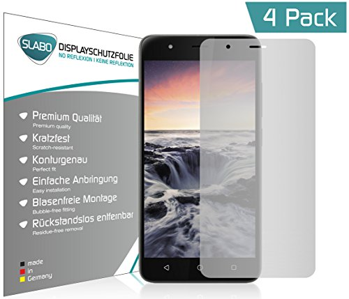 Slabo 4 x Bildschirmschutzfolie für Gigaset GS270 | GS270 Plus Bildschirmfolie Schutzfolie Folie Zubehör No Reflexion MATT