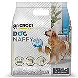 Croci Fascia Igienica Cani Maschi Dog Nappy 12 Pz L