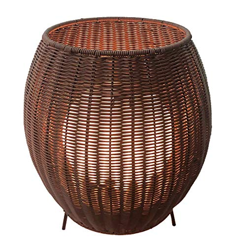 LUMISKY Cocoon - Lámparas de ambiente, color marrón