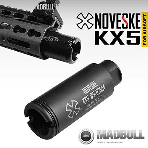 MADBULL マッドブル 製 Noveske公認パーツ KX5フラッシュハイダー 14mm逆ネジ仕様 CCW