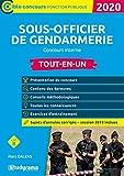 Sous-officier de gendarmerie - Concours interne