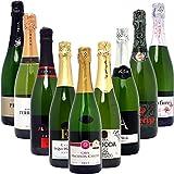 ★【Amazon】【特選タイムセール】本格シャンパン製法だけの厳選泡9本セット((W0S925SE))(750mlx9本ワインセット)が6,509円!