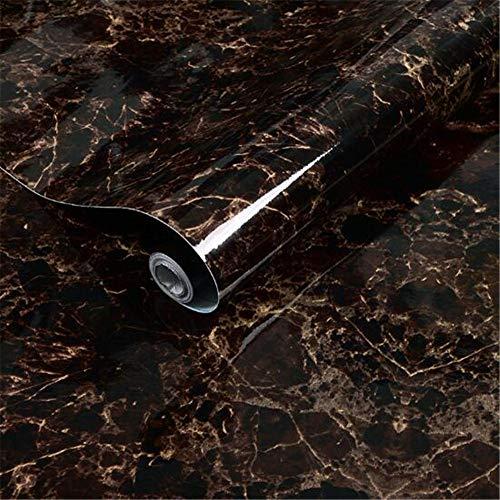Hava Kolari Marmor Folie Selbstklebende,60 cm × 500 cm,PVC,Klebefolie Küche,Fensterbank Folie,Klebefolie,Tapeten für Wände, Türen, Möbel Wasserdicht Ölbeständig (D)