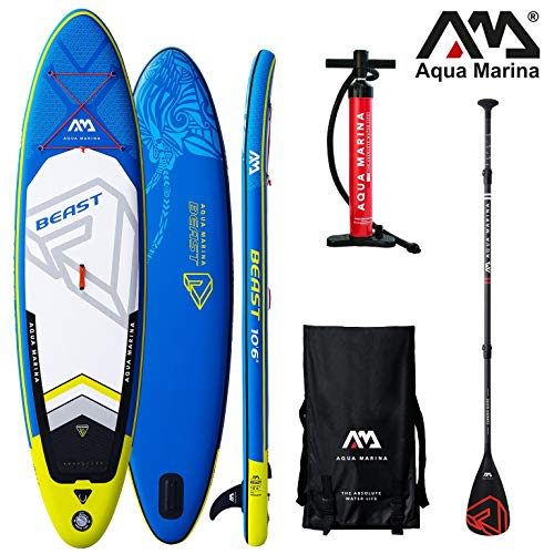 Aqua Marina BEAST 10.6 iSUP Sup Stand Up Paddle Board Paddel nach...