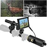 BESTSIGHT DIY Night Vision Scope for Night Hunting with 850nm IR Illumination Camera and 5