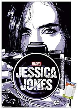 Trends International Marvel Comics TV - Jessica Jones - Camera Wall Poster 22.375  x 34  Poster & Mount Bundle
