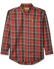 قميص عمل رجالي طويل الأكمام مقاوم للاشتعال من Wrangler Riggs Workwear