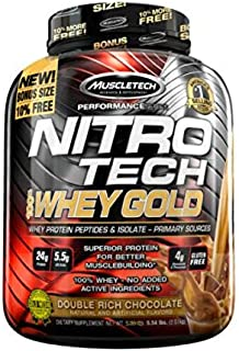Muscletech Nitro Tech Whey Gold - 2,5 kg Cookies and Cream