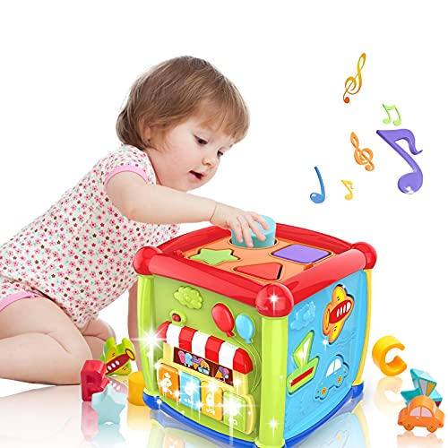 LAGERFEY Early Learning Shape Sorter Baby Toys 6 to 12 Months...