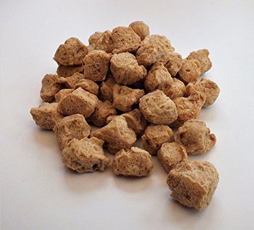Proteína vegetal texturizada, trozos naturales (TVP) sustituto de carne 1 kg