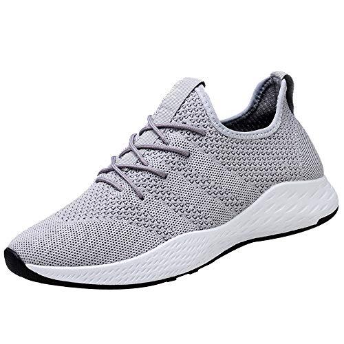 ELECTRI Hommes Respirant Baskets,Snakers Haute Qualité Soft Mesh Décontractées à Lacets Baskets Mode Chaussures de Course