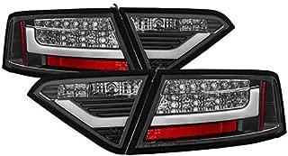Carpart4u - LED Light bar Tail Light for Audi A5 08-12 - Black Clear