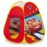 Mondo Toys – Cars 3 Pop UP Tente – Tente DE Jeu pour Enfants – Facile A' Ouvrir – Sac DE Transport Inclus – 28394, Multicolore