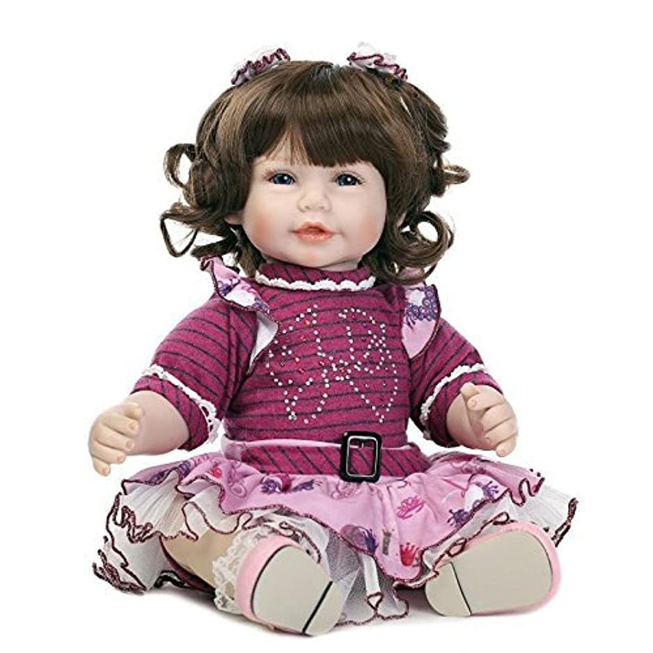 見て生きる記事oumeinuo 20リアルなハンドメイドで赤ちゃん人形女の子新生児LifelikeビニールRebornベビー人形おもちゃ+ドレス+靴
