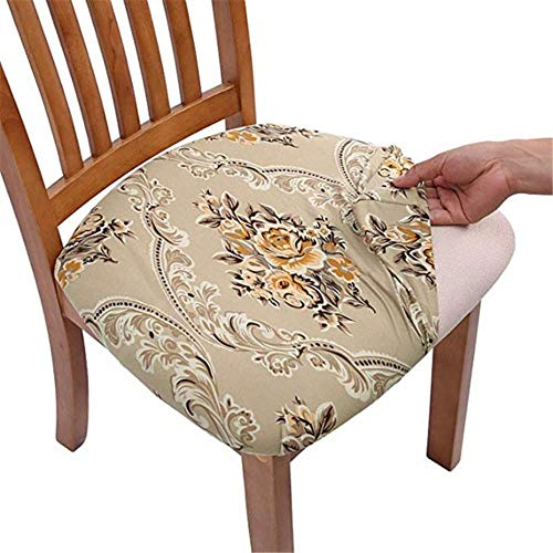 SDFCZ Chair Covers Dining Room Chair Protector Slipcovers Christmas Decoration 4PCS-H,China