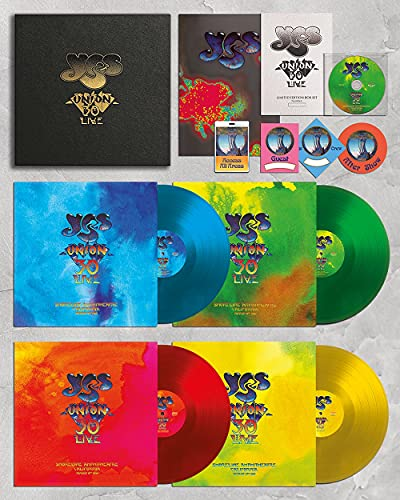 Yes: Union 30 Live (Ltd Ed 180gm Colored 4 LP + DVD) [Vinyl LP] (Vinyl (Limited Edition))