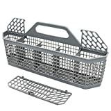 WD28X10128 Dishwasher Silverware Basket (19.7'x3.8'x8.4') Compatible With General Electric(GE) Replace Number...