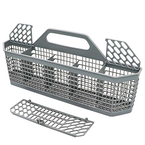 """WD28X10128 Dishwasher Silverware Basket (19.7""""x3.8""""x8.4"""") Compatible With General Electric(GE) Replace Number AP3772889, 1088673, AH959351"""