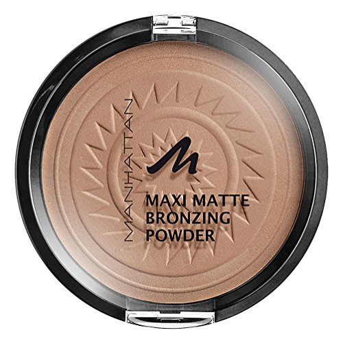 Manhattan Matte Maxi Bronzing Powder, 001, Blonde, 17 g