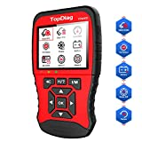 TopDiag TP906S New Generation OBD2 Scanner Enhanced OBDII Code Reader Full Engine Modes Diagnostic Tool with Battery Test