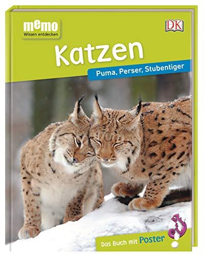 memo Wissen entdecken. Katzen: Puma, Perser, Stubentiger. Das Buch mit Poster!