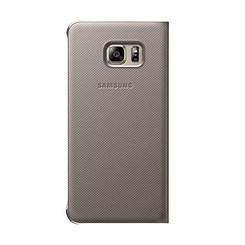 Samsung Flip Wallet Schutzhülle (geeignet für Samsung Galaxy S6 Edge Plus) gold