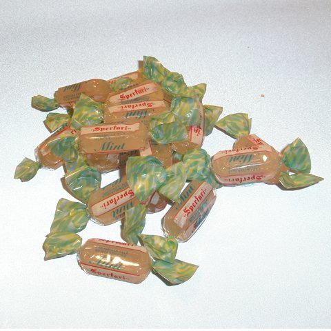 "Sperlari "" Menta"" Hard Boiled Mint Candy (6.6 Lbs 