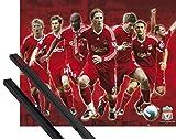 1art1 Fußball Mini-Poster (50x40 cm) FC Liverpool, Spieler
