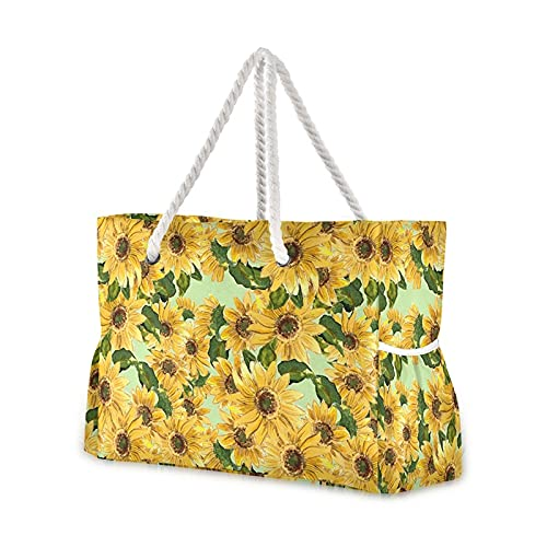 JSJJAKM Bolsas de playa grandes de nailon para señora, bolso de hombro para señora, bolso de mensajero para señora, bolso casual de playa (color: 6)