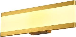MX Light Fixture Nordic Iron Wall Lamp,Modern Minimalist Bedroom Bedside LED Wall Lamp,Golden Study Room Dressing Table Pr...
