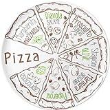 BRUNNER melamina stoviglie stoviglie da pizza piatto 37,5 Pizza Set pezzi