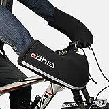 GIYO Guantes de manillar resistentes al viento, climas fríos, unisex, guantes cálidos para invierno, para bicicleta de montaña, bicicleta, barandilla, motocicleta, 1 par