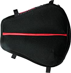 "Air pad made of durable polyurethane Cover: breathable spacer mesh with non skid bottom Cruiser straps included Designed for more narrowed front seats Measures 11"" L x 11"" W"