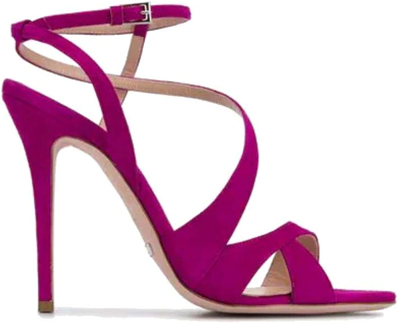Sebastian Luxury Fashion Damen S7915CAMOR S7915CAMOR DEA Fuchsia Sandalen   Frühling Sommer 19  Gratisversand
