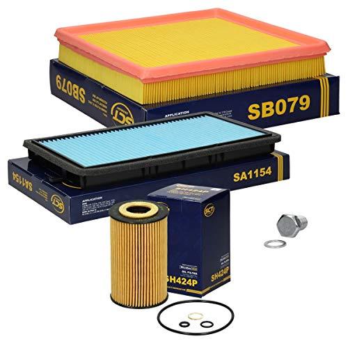 Inspektionspaket Wartungspaket Filterset 1 x Ölfilter 1 x Luftfilter 1 x Innenraumfilter