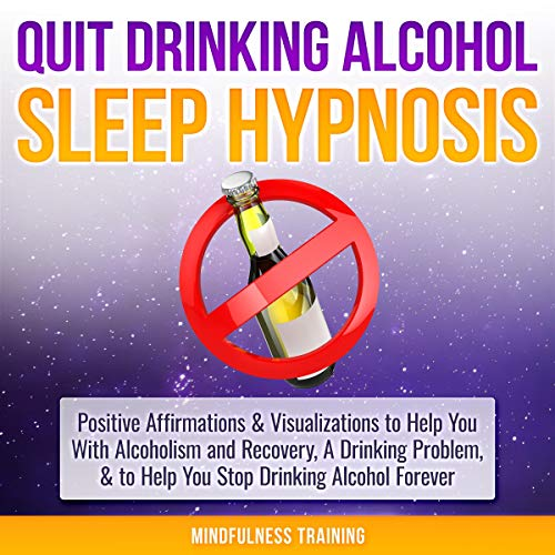 Quit Drinking Alcohol Sleep Hypnosis cover art