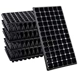 10 Pack Thickened 72 Cells Seedling Trays- BPA Free Plastic Gardening...