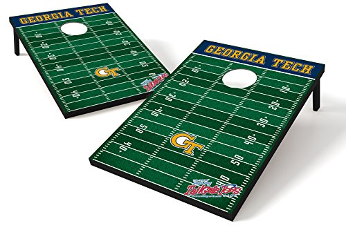 Wild Sports NCAA College Georgia Tech Yellow Jackets Tailgate Toss Game