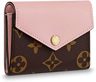 Louis Vuitton Monogram Canvas Zoe Mini Wallets Rose Ballerine Article: M62933