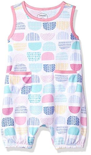 Lamaze Organic Baby Organic Baby Girl, Boy, Unisex Rompers, Coveralls, Pink Dot,...