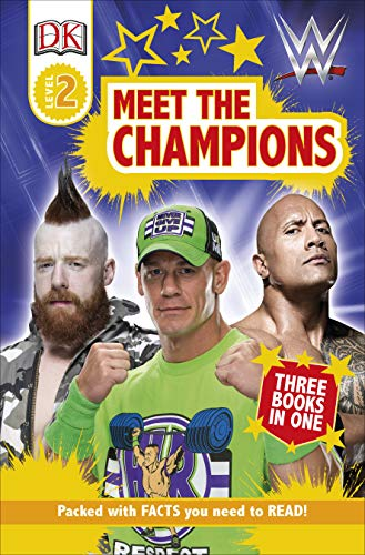 DK Readers Level 2: WWE Meet the Champions