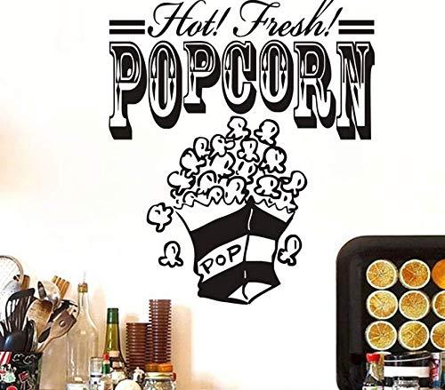 Hbbhbb Küche Wandaufkleber Frische Popcorn Eis Dekoration 69X58Cm