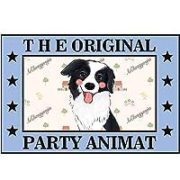 ペットベッド 犬猫クッション 長方形犬小屋 ペットクッション 漫画素敵な犬の敷物カーペットマット滑り止め2 mm なペットソファーブランケット (Color : B, Size : 42X62CM)