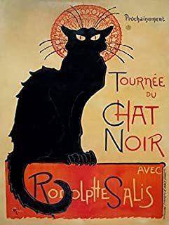 Posterazzi Tournee du Chat Noir Poster Print by Theophile Alexandre Steinlen (22 x 28)