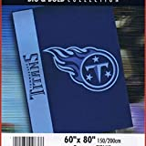 NFL Football Tennessee Titans Blanket Big & Bold High Pile Twin 60 X 80