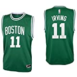 Outerstuff Kyrie Irving Boston Celtics #11 Green Youth Road Replica Jersey (Small 8)