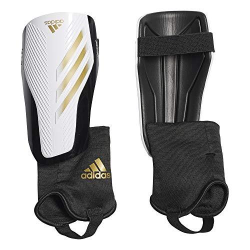 adidas Erwachsene X 20 Match Schienbeinschoner, White/Gold met./Black, L