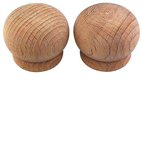ATELIERS 28 Embout Pomme Naturel - Diamètre 28 mm - Vendu par 2