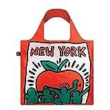 ローキー エコバッグ 折りたたみ ミュージアムコレクション キース・ヘリング ニューヨーク KH.NY